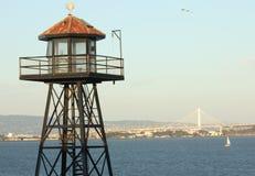 Torre e ponte do relógio da prisão Foto de Stock Royalty Free