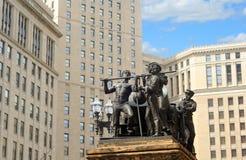 Torre e statuary fotografia de stock royalty free