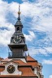 Torre e tetto di alta sinagoga Fotografia Stock Libera da Diritti