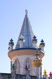 Torre e torretas Tonal de Foco Foto de Stock