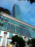 101 torre, edificio comercial, Taipei Taiwán Fotos de archivo