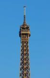 Torre Eiffel, último piso Fotos de archivo libres de regalías