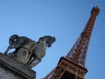 Torre Eiffel fotografía de archivo