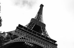 A torre Eiffel Fotos de Stock Royalty Free