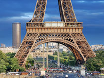 Torre Eiffel. Imagens de Stock Royalty Free