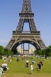 A torre Eiffel Foto de Stock