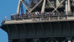 Torre Eiffel almacen de video