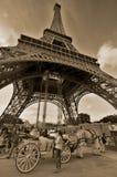 A torre Eiffel Fotos de Stock Royalty Free
