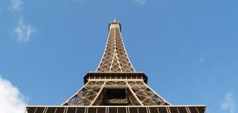 Torre Eiffel adentro Imágenes de archivo libres de regalías