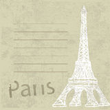 Torre Eiffel, arquitetura de Paris França Foto de Stock