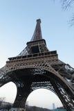 Torre Eiffel da parte inferior Imagens de Stock