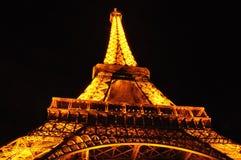 Torre Eiffel da sotto Fotografia Stock Libera da Diritti
