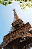 Torre Eiffel de abaixo Foto de Stock