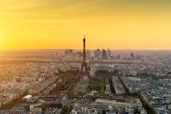 Torre Eiffel de París, Francia fotos de archivo