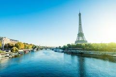 Torre Eiffel de París, Francia imagen de archivo