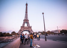 Torre Eiffel de Paris Foto de Stock Royalty Free