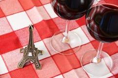 Torre Eiffel del recuerdo Imagen de archivo libre de regalías