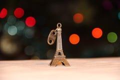 Torre Eiffel diminuta, Paris Fotografia de Stock