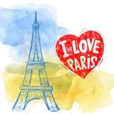 Torre Eiffel do vetor ilustração royalty free