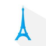 Torre Eiffel do vetor Fotos de Stock