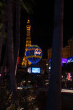 Torre Eiffel e hotel Paris Fotografia de Stock