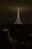 Torre Eiffel em a noite Fotografia de Stock