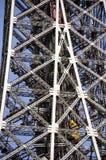 Torre Eiffel em Paris - detalhe Fotografia de Stock