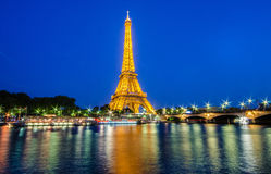 Torre Eiffel em Paris eiffel Foto de Stock