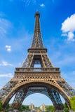 Torre Eiffel em Paris France Fotografia de Stock