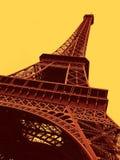 Torre Eiffel en París foto de archivo