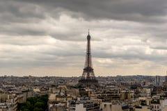 Torre Eiffel en París Foto de archivo libre de regalías