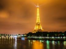 Torre Eiffel en París eiffel Imágenes de archivo libres de regalías