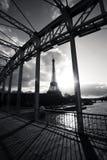 Torre Eiffel en París Francia Fotos de archivo