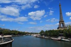 Torre Eiffel en París, Francia Foto de archivo