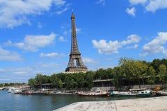 Torre Eiffel en París, Francia Fotografía de archivo libre de regalías