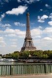 Torre Eiffel en Par?s Francia fotografía de archivo