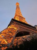 Torre Eiffel en Par?s Francia foto de archivo