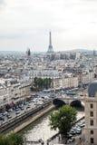 Torre Eiffel en Par?s imagen de archivo