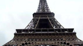 Torre Eiffel en Par?s almacen de video