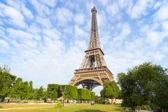 Torre Eiffel en París Imagen de archivo