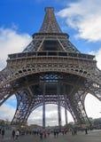 Torre Eiffel enorme Fotografia Stock Libera da Diritti