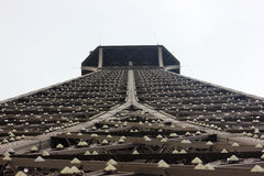 Torre Eiffel EOS-Rebell lizenzfreies stockbild