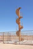 Torre Eiffel - escadas originais Imagem de Stock Royalty Free