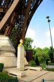 Torre Eiffel - escultura Gustavo Eiffel Imagen de archivo libre de regalías