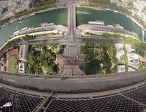 Torre Eiffel Gopro Стоковые Изображения RF