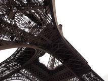 Torre Eiffel isolada imagens de stock royalty free