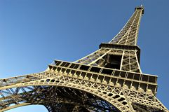 Torre Eiffel. La Francia Fotografia Stock