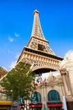Torre Eiffel Las Vegas Immagini Stock Libere da Diritti