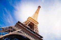 A torre Eiffel mágica Foto de Stock
