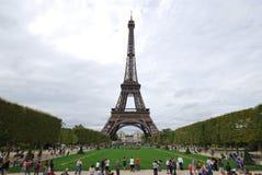 Torre Eiffel, torre Eiffel, marco, marco histórico nacional, torre, céu fotografia de stock